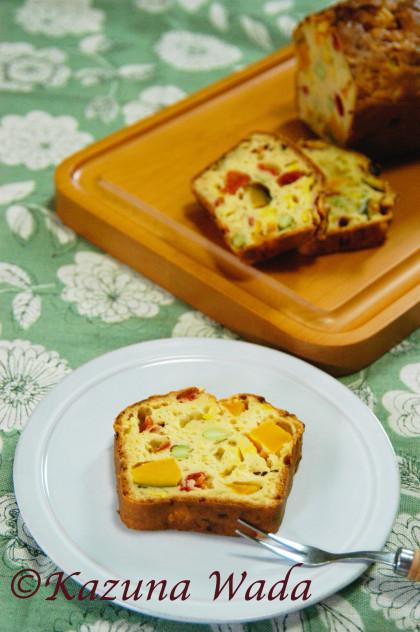 夏野菜ケークサレ レシピ