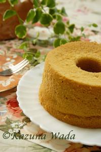 米粉のスパイスシフォンケーキ